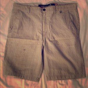 Used, stylish Modern Amusement striped shorts!!